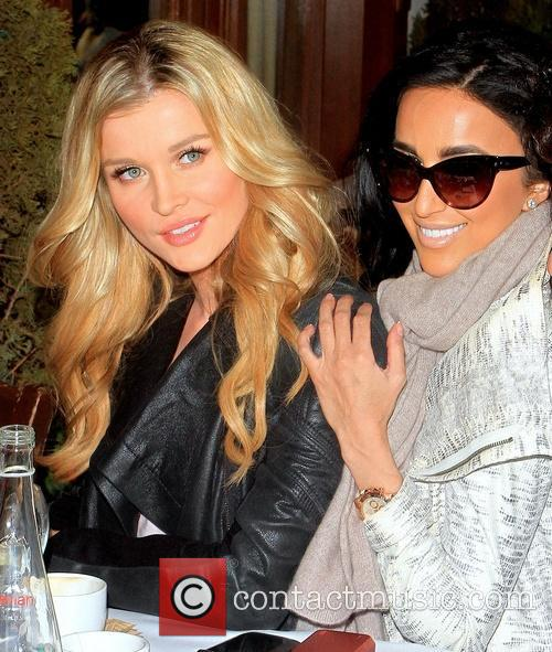 Joanna Krupa and Lily Ghalichi 2