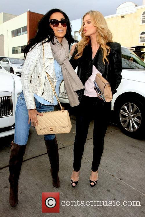 Lily Ghalichi and Joanna Krupa 3