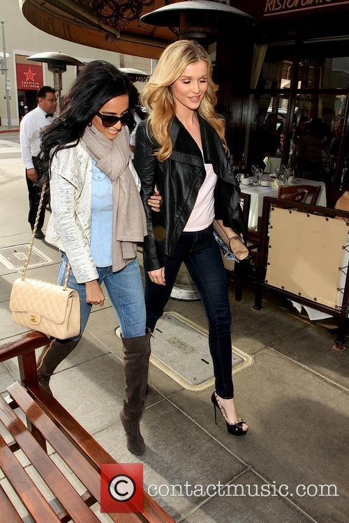 Lily Ghalichi and Joanna Krupa 4