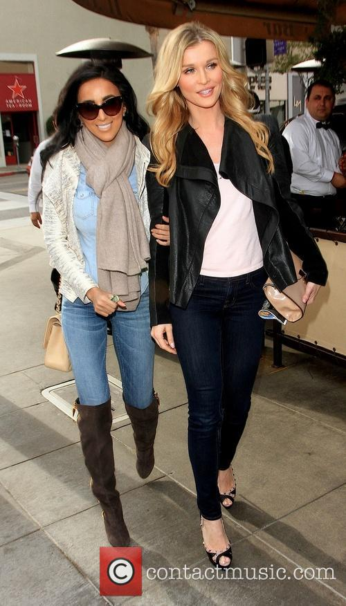 Lily Ghalichi and Joanna Krupa 5
