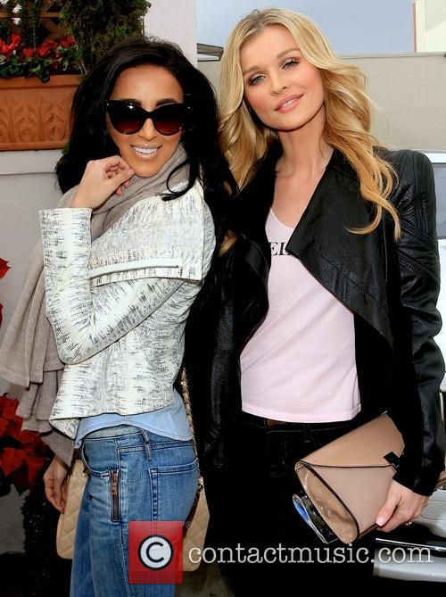 Lily Ghalichi and Joanna Krupa 6