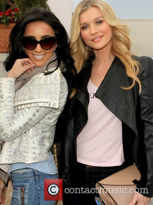 Lily Ghalichi and Joanna Krupa 7