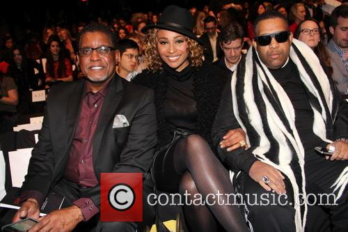 Gregory Leakes, Cynthia Bailey, New York Fashion Week