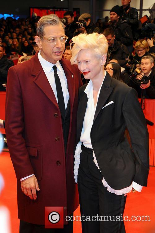Jeff Goldblum and Tilda Swinton 2