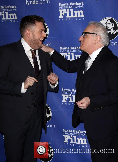 Jonah Hill and Martin Scorsese 7