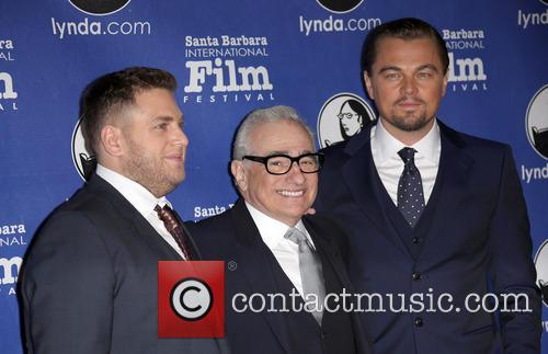 Jonah Hill, Martin Scorsese and Leonardo Dicaprio 2