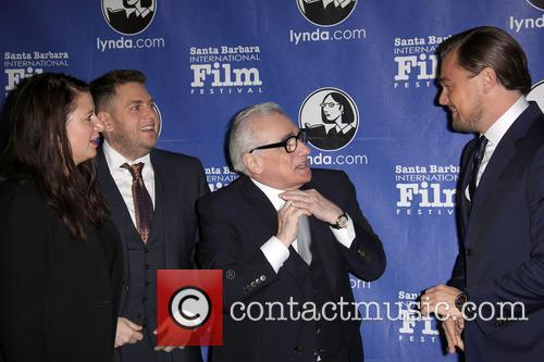 Jonah Hill, Martin Scorsese and Leonardo Dicaprio 3