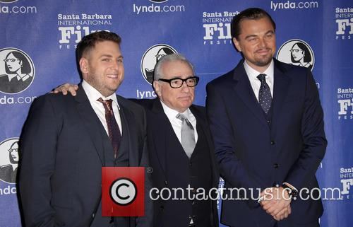 Leonardo DiCaprio Martin Scorsese Jonah Hill