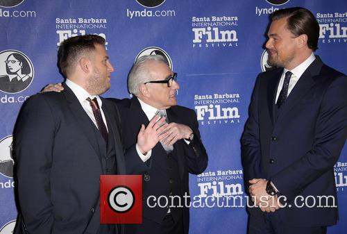 Jonah Hill, Martin Scorsese and Leonardo Dicaprio 5