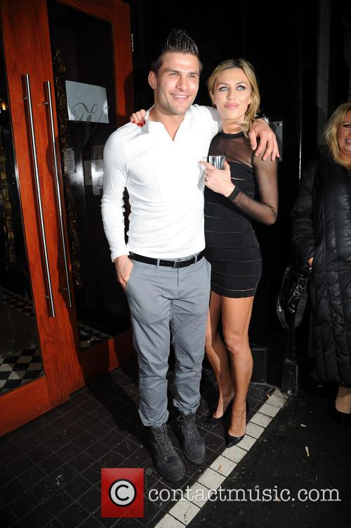 Aljaz Skorjanec and Abbey Clancy 8