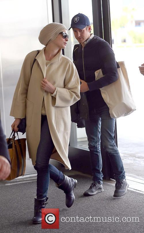 Anne Hathaway and Adam Shulman 2