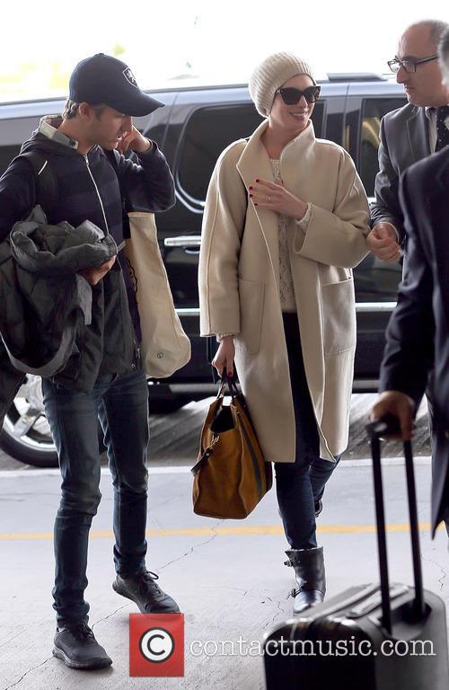 Anne Hathaway and Adam Shulman 3