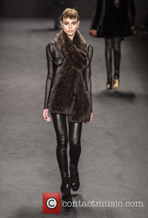 New York Fashion Week - Carmen Marc Volvo...