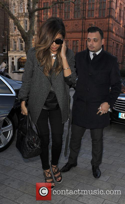 Nicole Scherzinger leaves the Sony offices and heads...