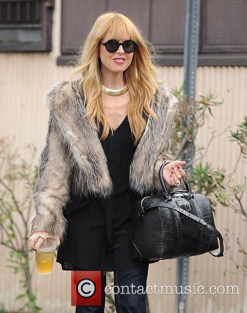 Rachel Zoe and family out to lunch