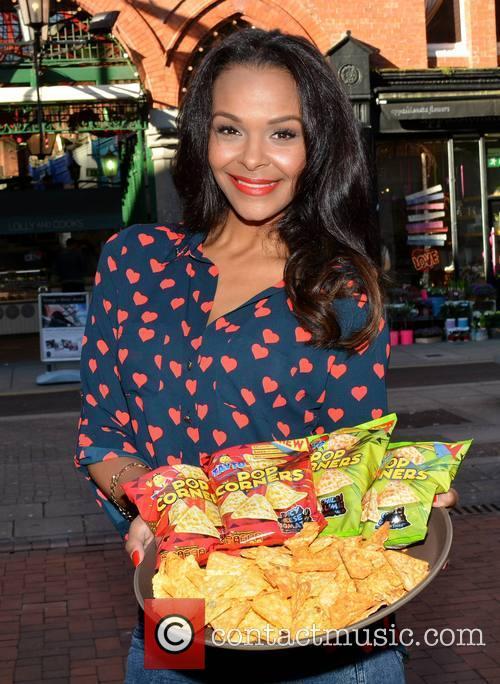 Samantha Mumba launches Tayto Popcorners
