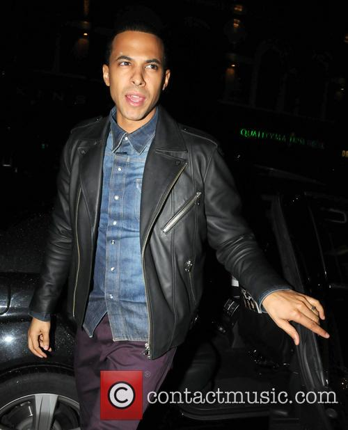 Marvin Humes arrives at Love & Liquor