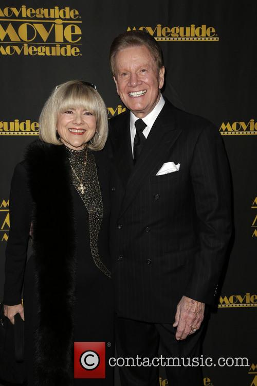 Sandy Ferra and Wink Martindale