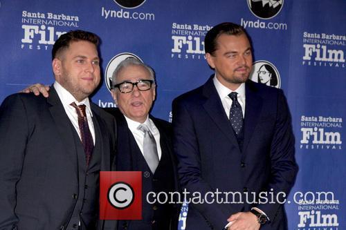 Jonah Hill, Martin Scorsese and Leonardo Dicaprio 1
