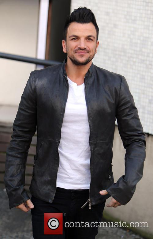 peter andre celebrities at the itv studios 4055906