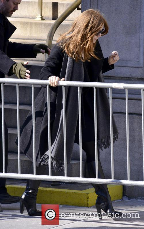 Amy Adams Philip Seymour Hoffman Funeral