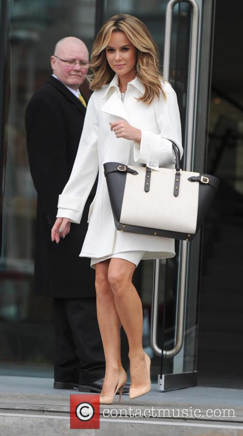 Amanda Holden leaves The Lowry Hotel