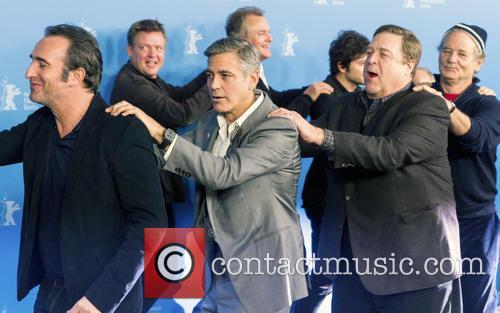 Jean Dujardin, George Clooney, John Goodman, Bill Murray, Dimitri Leonidas, Hugh Bonneville and Justus Von Dohnányi 3