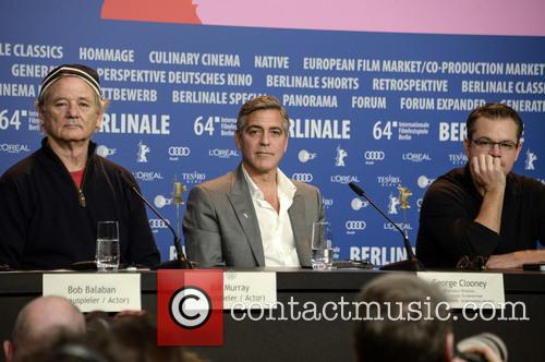 George Clooney, Matt Damon and Bill Murray 4