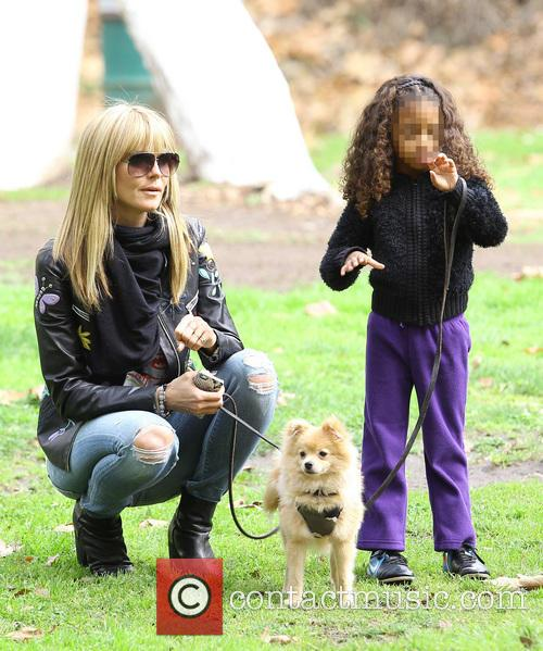 Heidi Klum, Lou Samuel and Buttercup 11