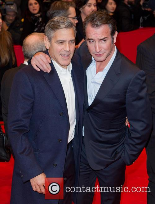 George Clooney and Jean Dujardin 3