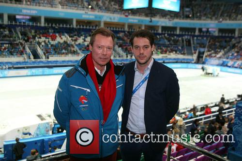 Henri, Grand Duke Of Luxembourg and Prince Felix Of Luxembourg 2