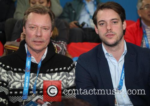 Henri, Grand Duke Of Luxembourg and Prince Felix Of Luxembourg 3