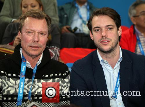 Henri, Grand Duke Of Luxembourg and Prince Felix Of Luxembourg 1