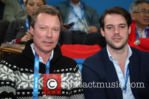 Henri, Grand Duke Of Luxembourg and Prince Felix Of Luxembourg 6