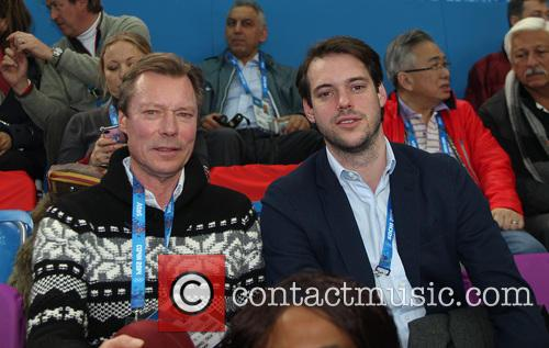Henri, Grand Duke Of Luxembourg and Prince Felix Of Luxembourg 7
