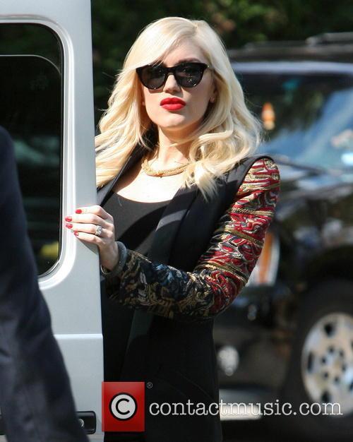 Gwen Stefani leaves Hotel Bel-Air