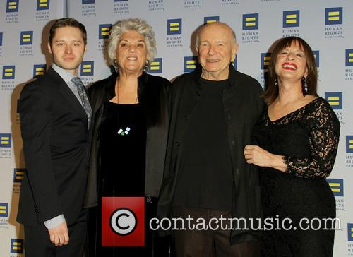 Bobby Steggert, Tyne Daly, Terrence Mcnally and Patti Lupone