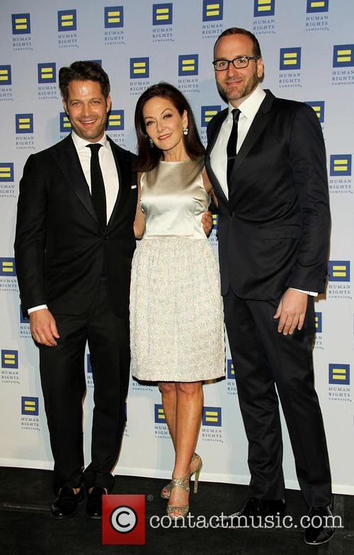 Nate Berkus, Margaret Russell and Chad Griffin 3