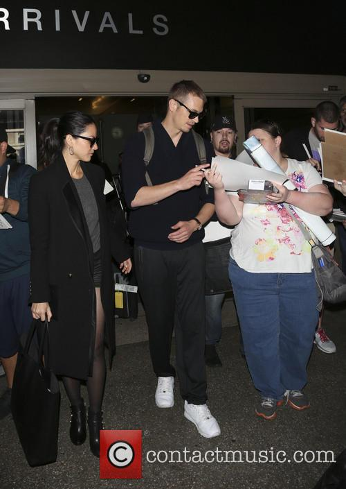 Olivia Munn and Joel Kinnaman arrive at Los...
