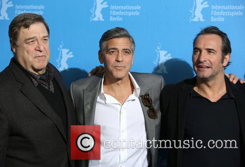 John Goodman, George Clooney and Jean Dujardin 6
