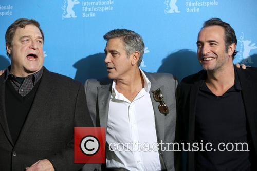 John Goodman, George Clooney and Jean Dujardin 7