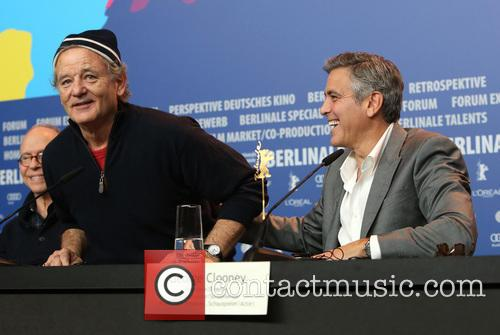 Bill Murray and George Clooney 9