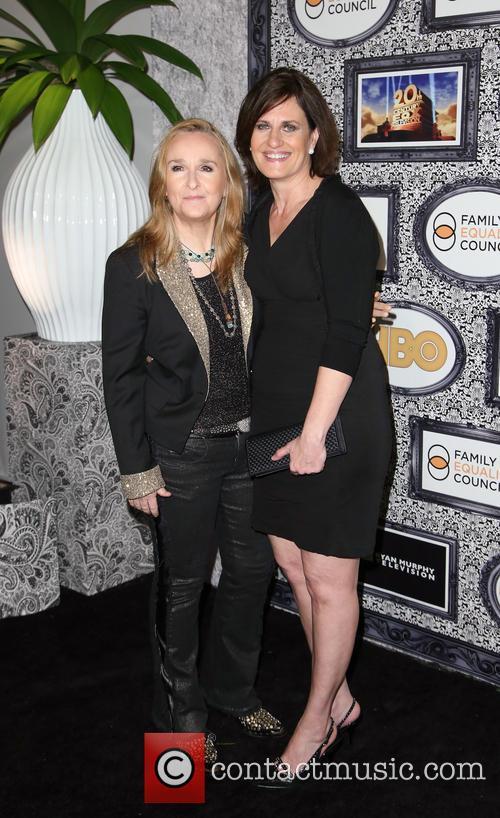 Linda Wallem and Melissa Etheridge 2