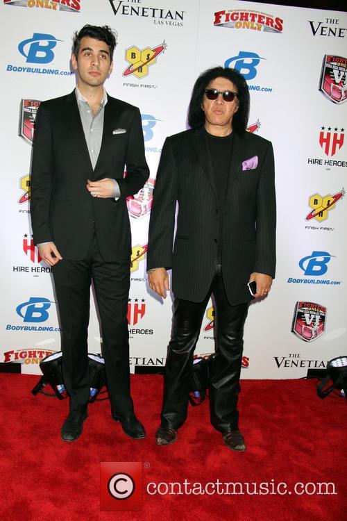Gene Simmons and Nick Simmons 5