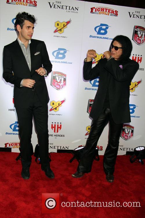 Gene Simmons and Nick Simmons 6