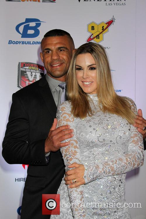 Vitor Belfort and Joana Prado 2