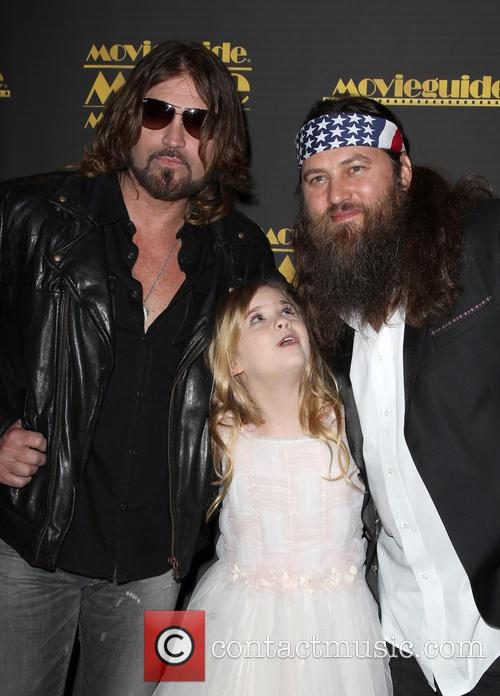 Billy Ray Cyrus, Kyla Kenedy and Willie Robertson 2
