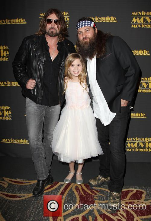 Billy Ray Cyrus, Kyla Kenedy and Willie Robertson 5