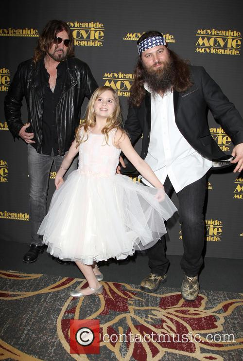 Billy Ray Cyrus, Kyla Kenedy and Willie Robertson 7