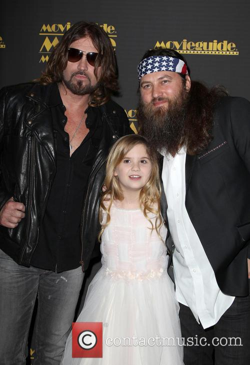 Billy Ray Cyrus, Kyla Kenedy and Willie Robertson 8